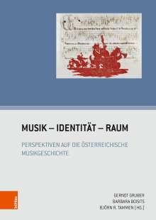 Musik - Identität - Raum, Buch