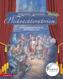 Rudolf Herfurtner: Weihnachtsoratorium, Buch