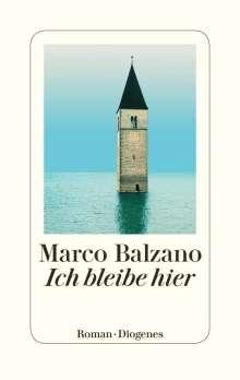 Marco Balzano: Ich bleibe hier, Buch