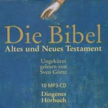 Die Bibel. 10 MP3-CDs, 10 CDs