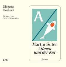 Martin Suter: Allmen und der Koi, 4 CDs