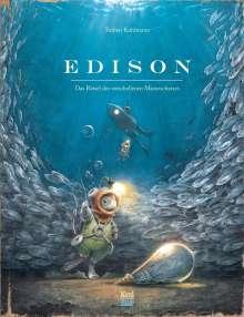 Torben Kuhlmann: Edison, Buch
