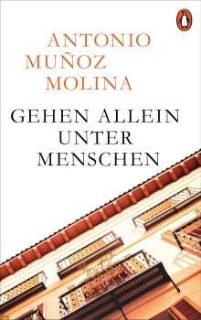 Antonio Muñoz Molina: Gehen allein unter Menschen, Buch