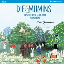 Tove Jansson: Die Mumins. Geschichten aus dem Mumintal, 3 CDs