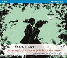 Kerstin Gier: Smaragdgrün. Liebe geht durch alle Zeiten 03., 6 CDs