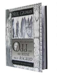 Neil Gaiman: Der lächelnde Odd und die Reise nach Asgard, Buch