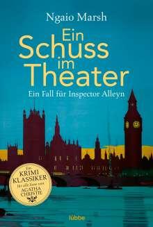 Ngaio Marsh: Ein Schuss im Theater, Buch