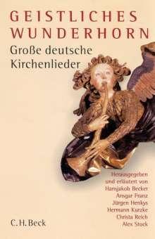 Geistliches Wunderhorn, Buch