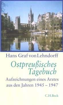 Hans Graf von Lehndorff: Ostpreußisches Tagebuch, Buch