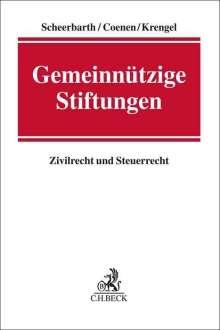 Walter Scheerbarth: Gemeinnützige Stiftungen, Buch