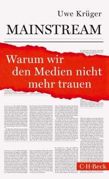 Uwe Krüger: Mainstream, Buch