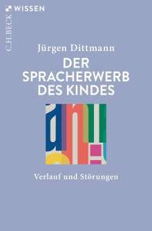 Jürgen Dittmann: Der Spracherwerb des Kindes, Buch