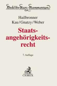 Kay Hailbronner: Staatsangehörigkeitsrecht, Buch