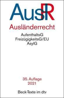 Ausländerrecht, Buch