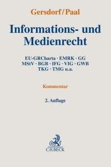Informations- und Medienrecht, Buch