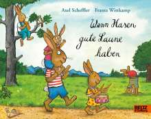 Axel Scheffler: Wenn Hasen gute Laune haben, Buch