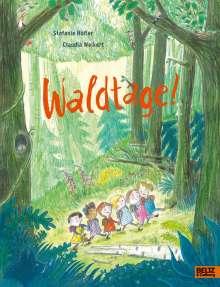 Stefanie Höfler: Waldtage!, Buch