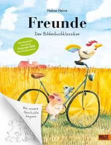 Helme Heine: Freunde, Buch