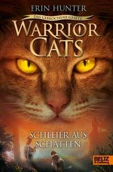 Erin Hunter: Warrior Cats 7/03 - Das gebrochene Gesetz - Schleier aus Schatten, Buch