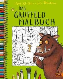 Axel Scheffler: Der Grüffelo. Das Grüffelo-Malbuch, Buch