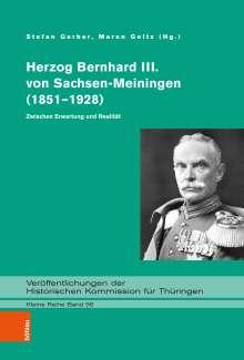 Herzog Bernhard III. von Sachsen-Meiningen (1851-1928), Buch