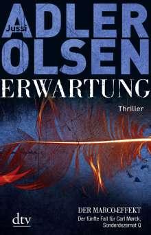 Jussi Adler-Olsen: Erwartung - Der Marco-Effekt, Buch