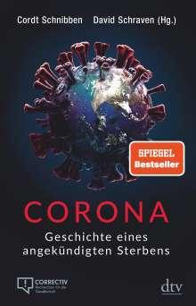 Cordt Schnibben: Corona, Buch