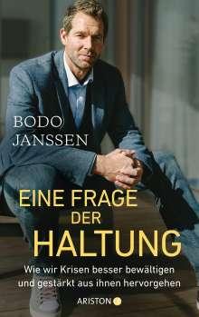 Bodo Janssen: Eine Frage der Haltung, Buch