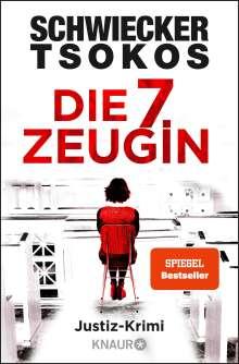 Florian Schwiecker: Die siebte Zeugin, Buch