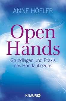 Anne Höfler: Open Hands, Buch