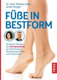 Mellany Galla: Füße in Bestform, Buch