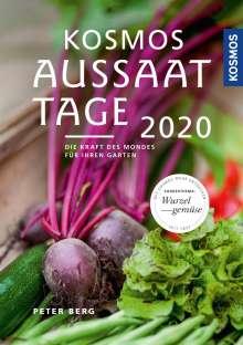 Peter Berg: Kosmos Aussaattage 2020, Buch