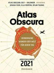 Joshua Foer: Atlas Obscura - Abreißkalender 2021, Diverse
