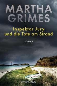 Martha Grimes: Inspektor Jury und die Tote am Strand, Buch