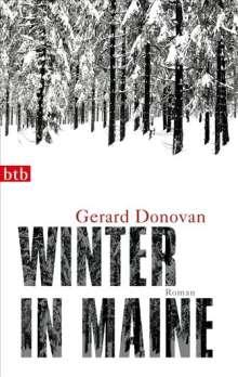 Gerard Donovan: Winter in Maine, Buch
