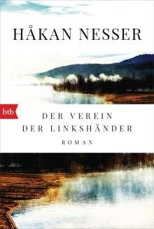 Håkan Nesser: Der Verein der Linkshänder, Buch