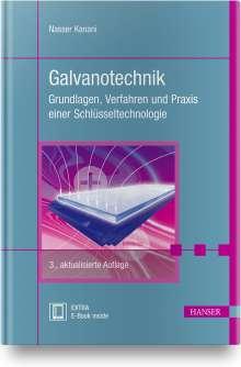Nasser Kanani: Galvanotechnik, 1 Buch und 1 eBook