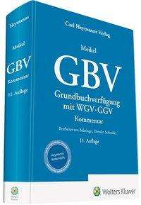 Walter Böhringer: Meikel, GBV - Kommentar, Buch