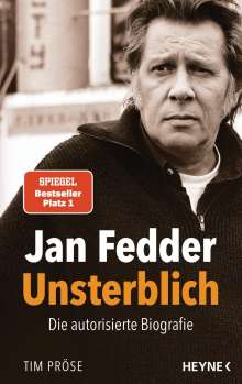 Tim Pröse: Jan Fedder - Unsterblich, Buch