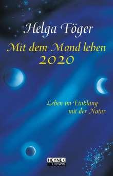 Helga Föger: Mit dem Mond leben 2020 Taschenkalender, Diverse