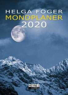 Helga Föger: Mondplaner 2020 Taschenkalender, Diverse
