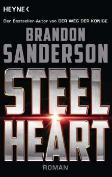 Brandon Sanderson: Steelheart, Buch