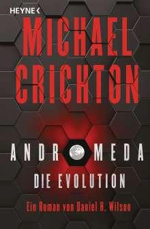 Michael Crichton: Andromeda - Die Evolution, Buch