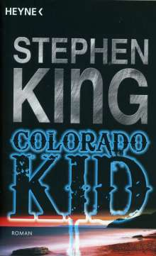 Stephen King: Colorado Kid, Buch