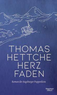 Thomas Hettche: Herzfaden, Buch