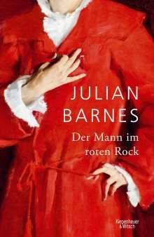 Julian Barnes: Der Mann im roten Rock, Buch