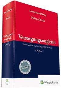 Helmut Borth: Versorgungsausgleich, Buch