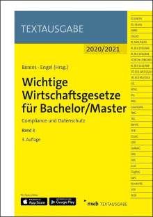 Wichtige Wirtschaftsgesetze für Bachelor/Master 3, 1 Buch und 1 Diverse