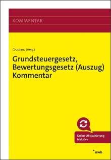 Erik Wredenhagen: Grundsteuergesetz, Bewertungsgesetz (Auszug) Kommentar, 1 Buch und 1 Diverse