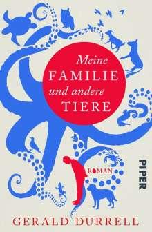 Gerald Durrell: Meine Familie und andere Tiere, Buch